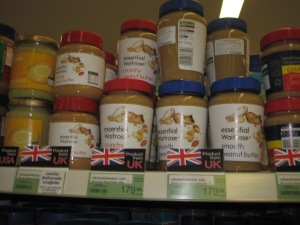 Waitrose Essentials peanut butter  - what every thai person needs to complete their meal