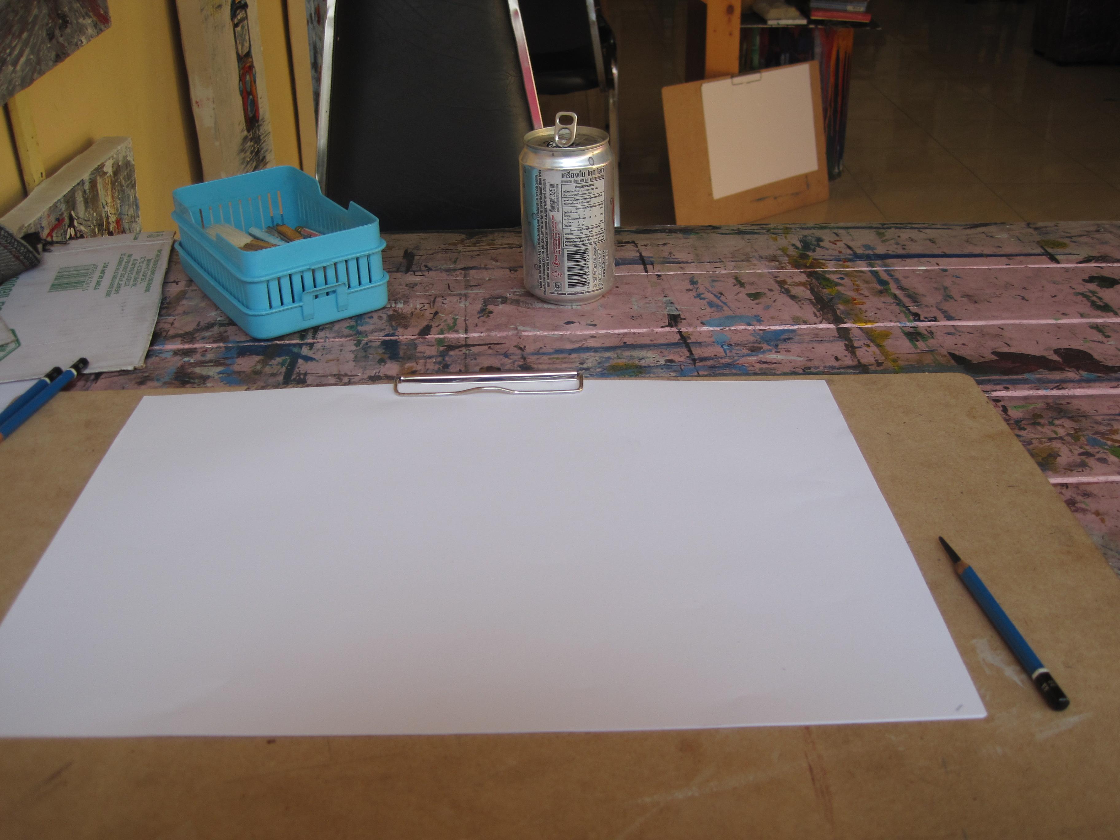 A blank sheet