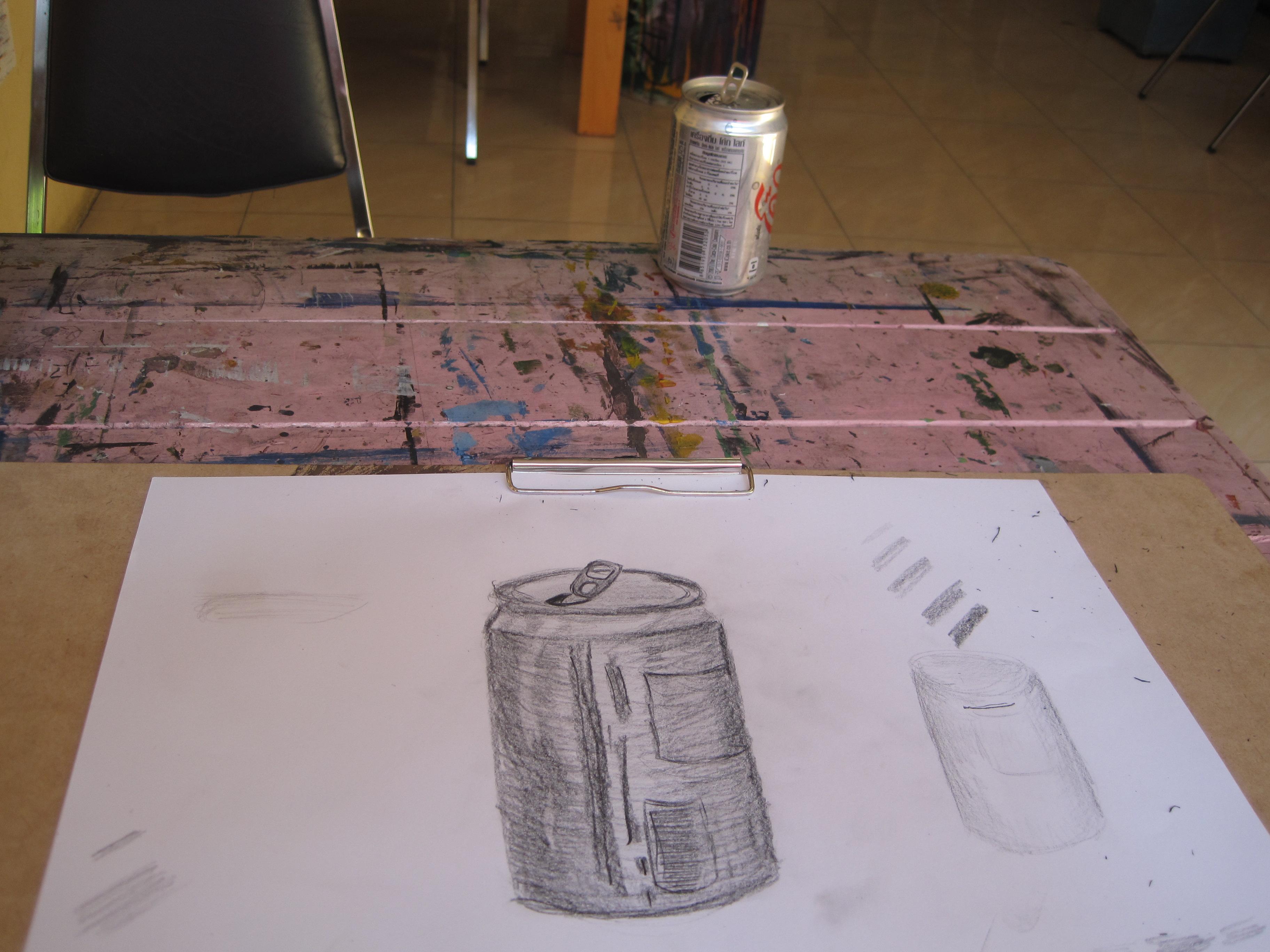 Still life: Coke Can