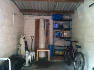 77. Declutter a room: my garage post a declutter
