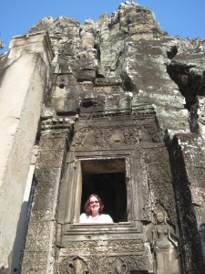 62. Imagine what your life would have been if you lived 200 years ago: or 1000 -  me at Angkor Wat, Cambodia