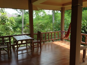 My balcony in Koh Phangan