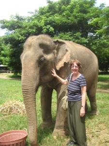 Mary and Elephant