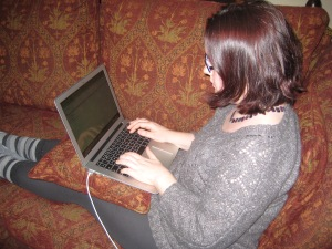 Writing my first post, on my shiny new laptop in November 2012.