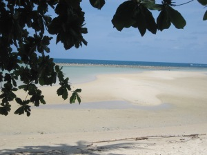 A private beach on Koh Samui I was lucky enough to spend a few days on in April