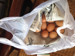 Thailand eggs (yes, you have to be careful carrying them home on the motorbike!