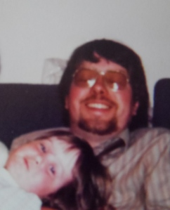 Ellen and Dad sofa
