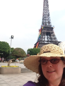 Straw hat in Paris, China