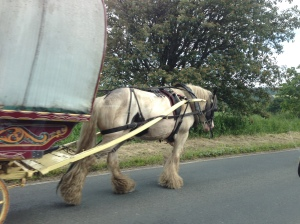Heading to the Appleby Horse Fair